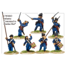 Infantry in Hardee Hats and Frock Coats Command /7)