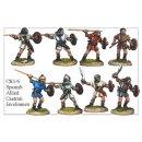 Spanish Caetrati Skirmishers (8)