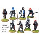 Armoured Men at Arms (8)
