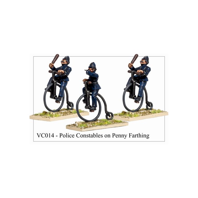 Police Constables On Penny Farthing