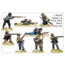 Infantry in Hats and Shell Jackets Firing Line (8)