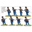 Infantry in Hardee Hats and Frock Coats Firing Line (8)