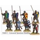 Armoured Norman Spearmen Standing (8)