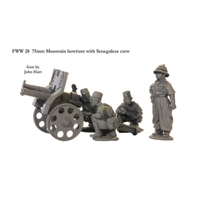75mm Mountain howitzer