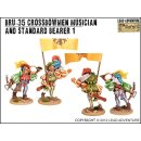 BRU-35 Crossbowmen Musician and Standard Bearer 1 (2)