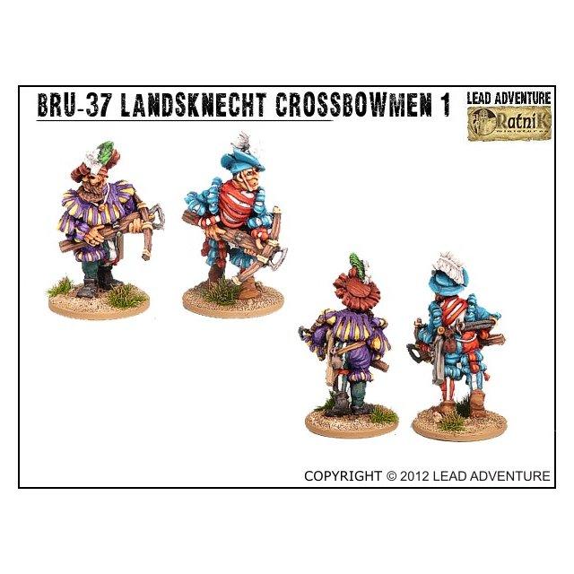 BRU-37 Landsknecht Crossbowmen 1 (2)