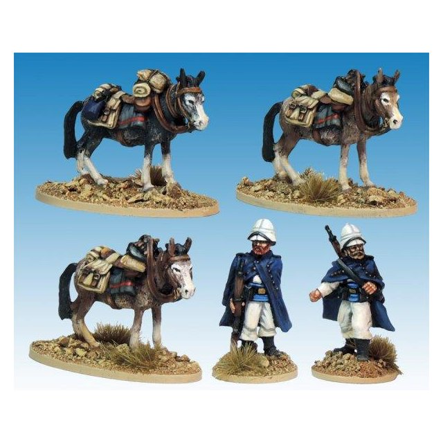 Legion Mounted Company Mule holders