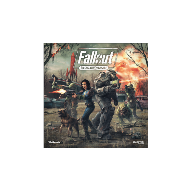 Fallout: Wasteland Warfare - Two Player PVC Starter Set - EN