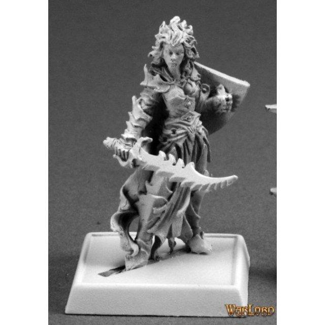 Evshyvandra Duskwidow, Dark Elf Warrior