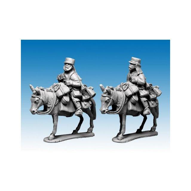 Legion Mounted Company in Tunic and Kepi