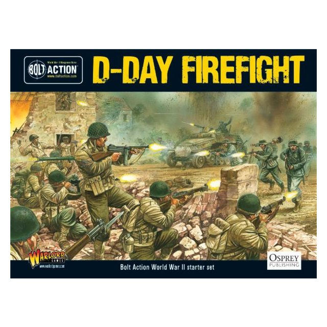 Bolt Action start box - D-Day Firefight (Englisch)