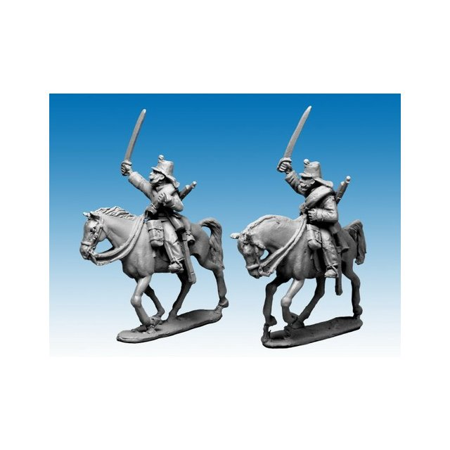 Chasseurs dAfrique charging in Campaign dress