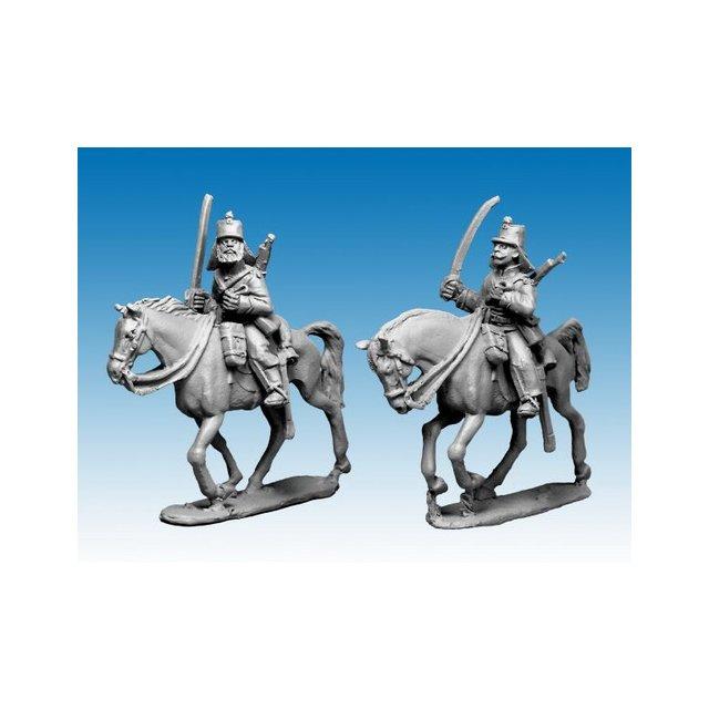 Chasseurs dAfrique shouldered sabres