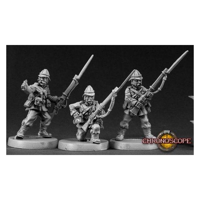British Colonial Riflemen