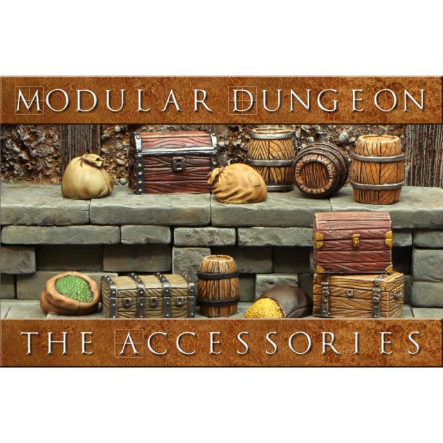 Modular Dungeon - Accessories Add-On