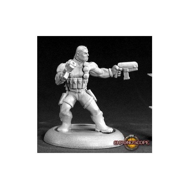 Frank Russo, Mercenary Hero