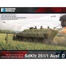 German SdKfz 251/D Halftrack (28mm)