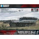 SdKfz 251 Ausf. D (3-in-1) 28mm