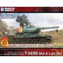 Soviet T34/85 Tank (28mm)