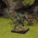 Lizardman Warrior I, standing, with sword and shield