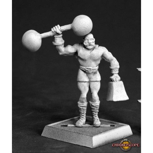 Herq, Circus Strong Man