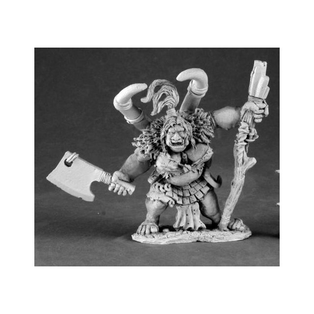 Talanka, Female Ogre Shaman