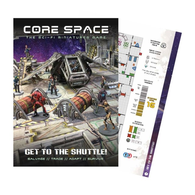 Core Space Get to the Shuttle Expansion (Englisch)