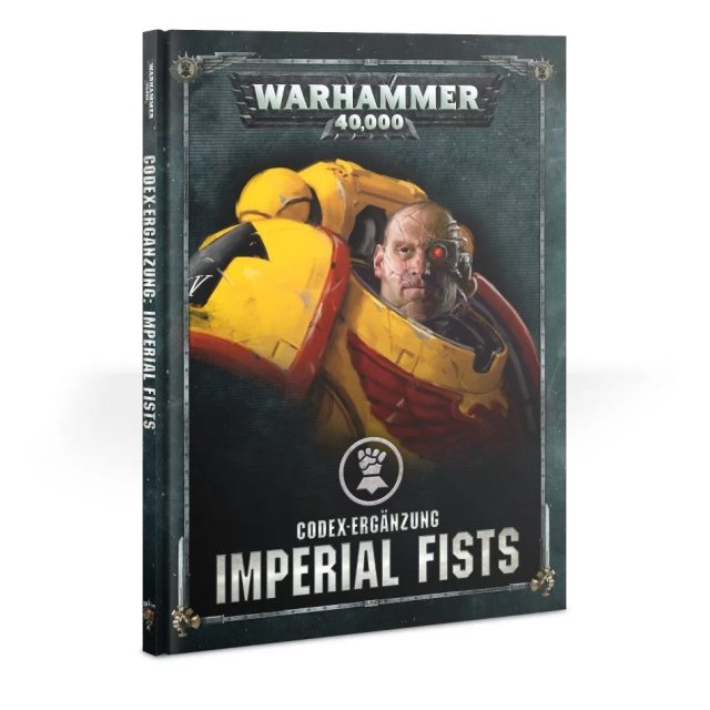 Codex-Erweiterung: Imperial Fists (Deutsch)
