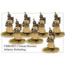 Infantry in Greatcoat and Helmet Defending (8)
