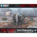 2cm Flakvierling 38 with SdAh 51/52 & Crew