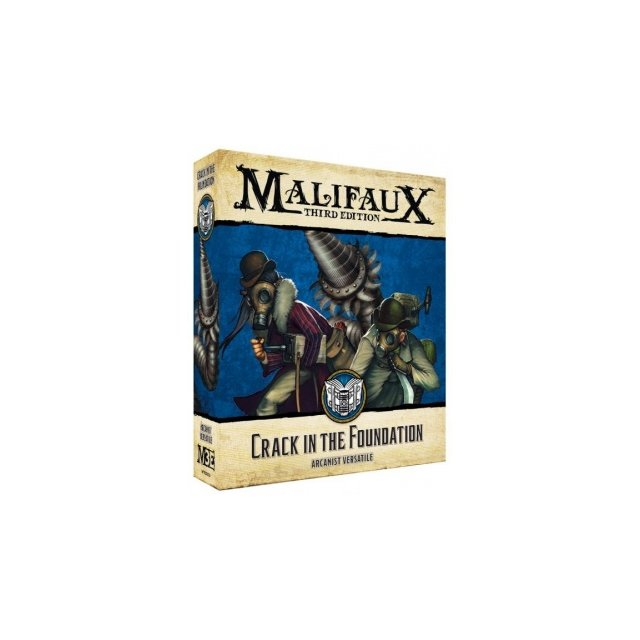 Malifaux 3rd Edition - Crack in the Foundation - EN