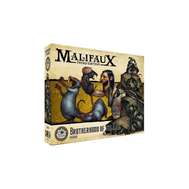 Malifaux 3rd Edition - Brotherhood of the Rat - EN