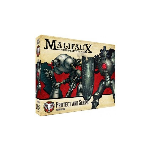 Malifaux 3rd Edition - Protect and Serve - EN