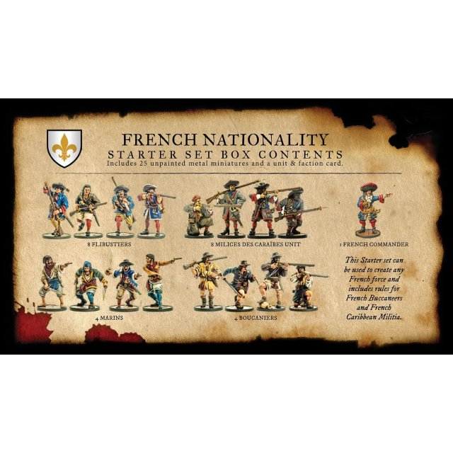 Blood and Plunder French Nationality Set