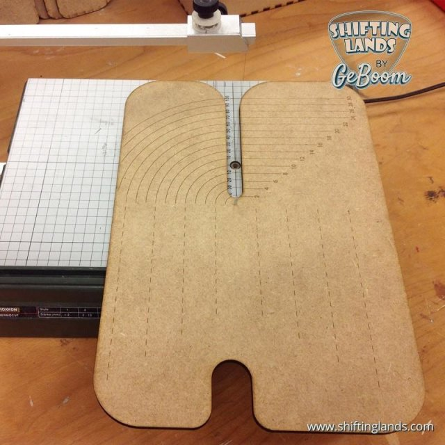Shiftinglands: Circular Cutting Board / Kreisschneider für Proxxon Thermocut