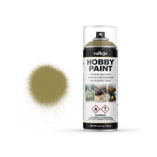 Vallejo Hobby Paint Spray Panzer Yellow (400ml.)