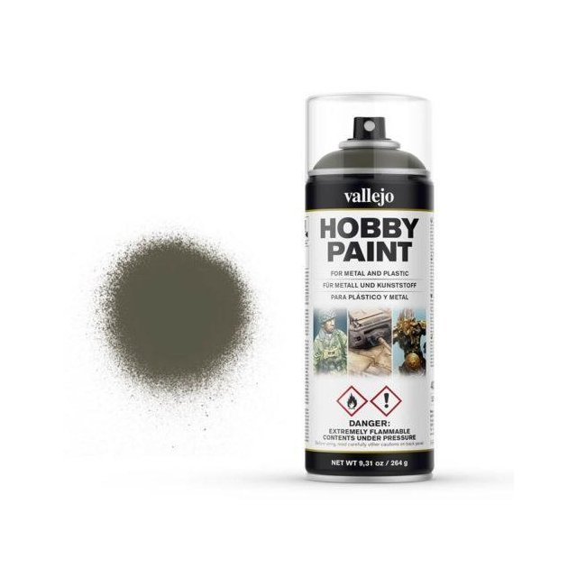 Vallejo Hobby Paint Spray Russian Green 4BO (400ml.)