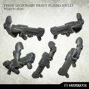 Prime Legionaries Heavy Plasma Rifles