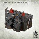 Skargruk Line – Straight wall