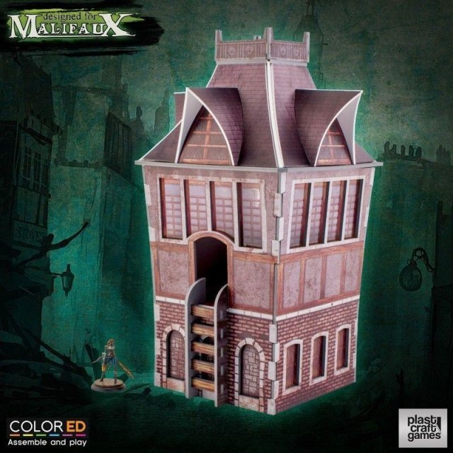 Malifaux: The Tower colored