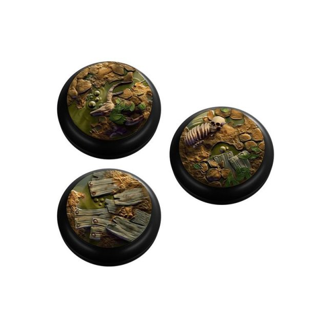 Swamp Inlays/Small Bases Set (10)