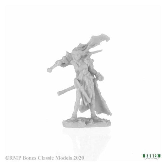 Talnyth, Female Elf Barbarian