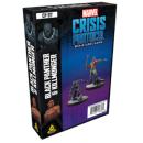 Marvel Crisis Protocol: Black Panther and Killmonger - EN