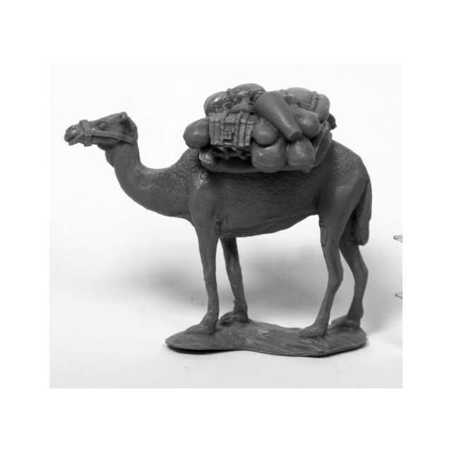 Camel w/ Pack
