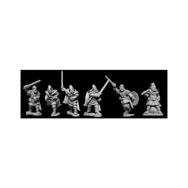 Viking Hirdmen with Spears (6)