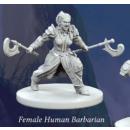 Fantasy Series 1: Female Human Barbarian