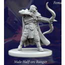 Fantasy Series 1: Male Half-Orc Ranger