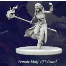 Fantasy Series 1: Female Half-Elf Wizard