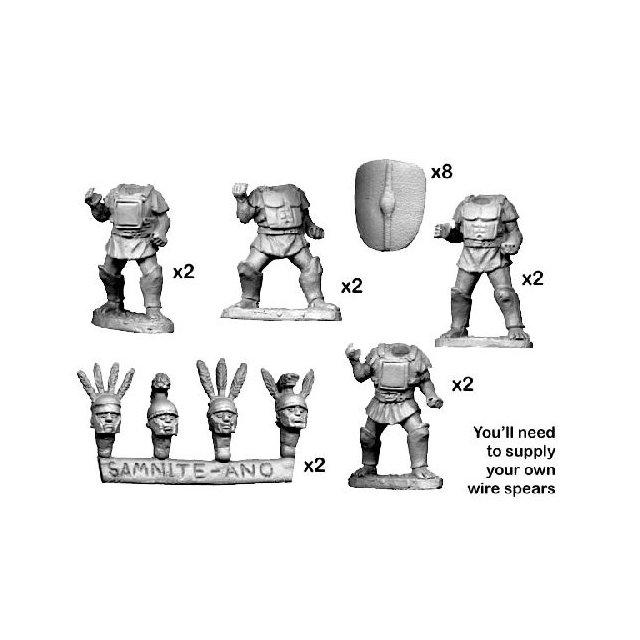 Samnites in Square/ Pectoral Armour