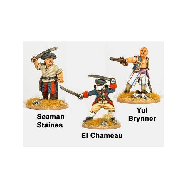 Sea Dogs - Yul Brinner, El Chameau, Seaman Staines (3)